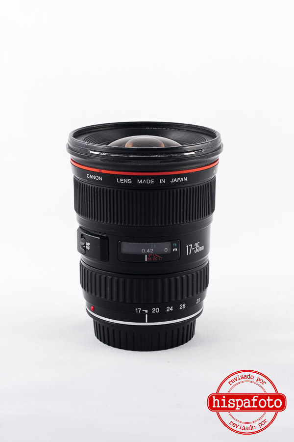Canon EF 17-35mm f2.8 L USM frontal