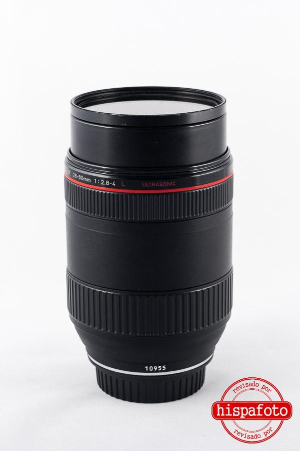 Canon EF 28-80mm f2.8-4 L USM trasera