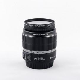 Objetivo Canon EF-S 18-55mm f3.5-5.6 IS con Garantía*
