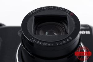 Canon Powershot G9 lente