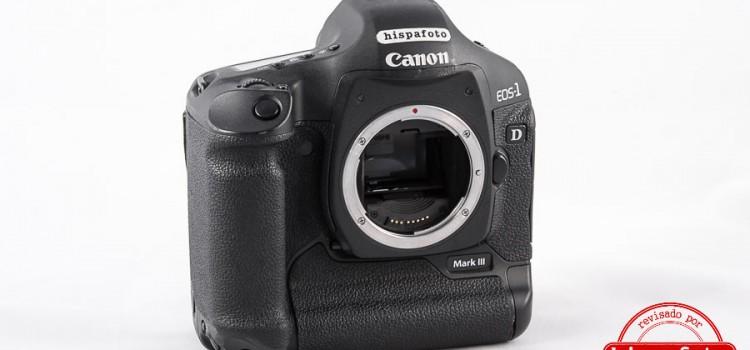 Cámara Canon 1D Mark III con Garantía*