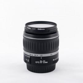 Objetivo Canon EF-S 18-55 f3.5-5.6 con Garantía*
