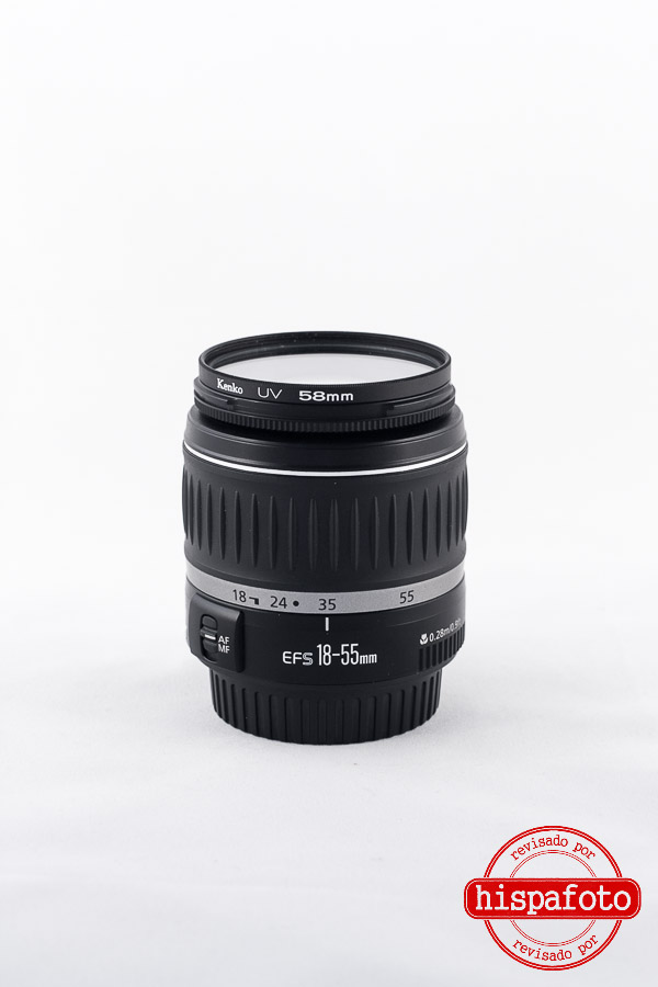 Canon EF-S 18-55mm f3.5-5.6 frontal