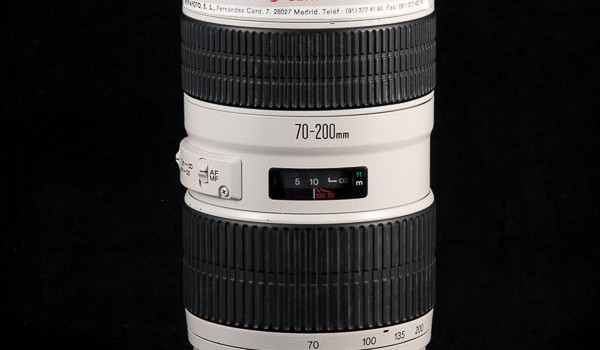 Objetivo Canon EF 70-200mm f2.8L USM