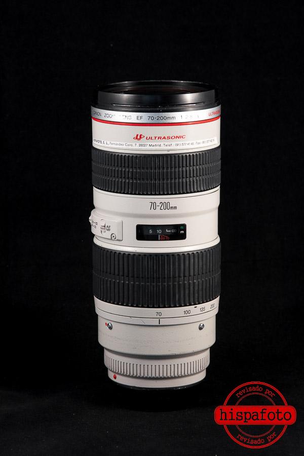 Canon EF 70-200mm f2.8L USM frontal