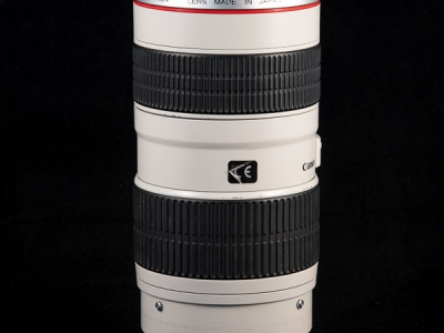 Canon EF 70-200mm f2.8L USM trasera