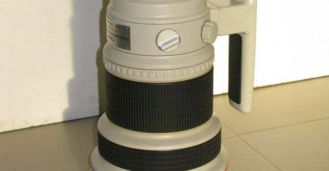 Objetivo Canon EF 400mm f2.8 L