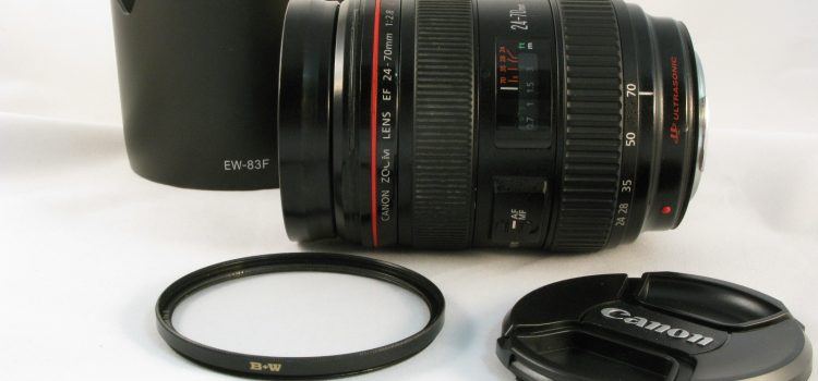 Objetivo Canon EF 24-70 mm f2.8 L con garantía*