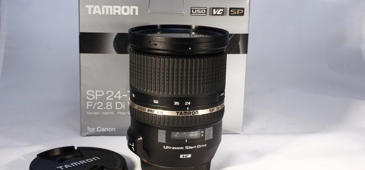 Objetivo TAMRON SP 24-70mmF/2.8 Di VC USD  (para Canon)