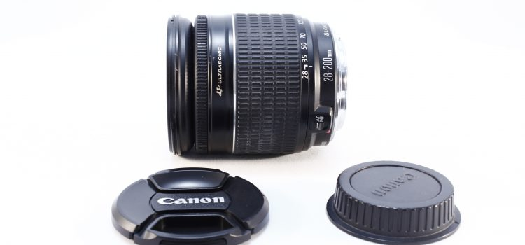 Objetivo Canon EF 28-200 F/ 3.5-5.6 USM con Garantía*
