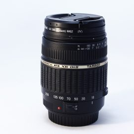Objetivo TAMRON  ASPHERICAL XR  Di II AF 18-200 F/3.5-6.3  MACRO (para Canon)