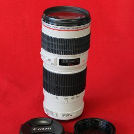 Objetivo Canon EF 70-200mm f4 L USM con Garantía*